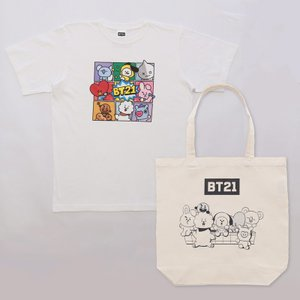 COMIC T-Shirts&Tote bag-BT21 [M便 1/1]|dyn