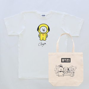 Solo2 T-Shirts&Tote bag_ BT21 [M便 1/1]|dyn