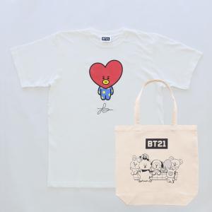 Solo3 T-Shirts&Tote bag_ BT21 [M便 1/1]|dyn