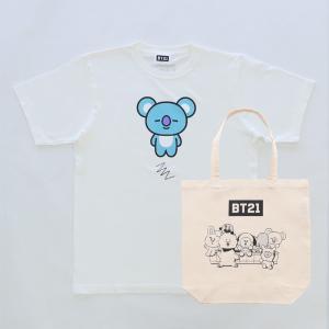 Solo4 T-Shirts&Tote bag_ BT21 [M便 1/1]|dyn