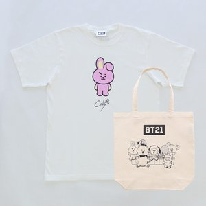 Solo6 T-Shirts&Tote bag_ BT21 [M便 1/1]|dyn