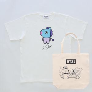 Solo7 T-Shirts&Tote bag_ BT21 [M便 1/1]|dyn