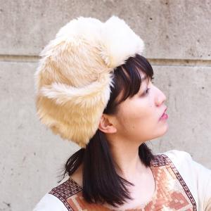 帽子 フェイクファー フライトキャップ cap|dyn