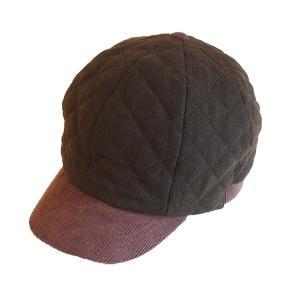 帽子 キャップ フラノキルト ボールcap|dyn