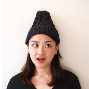 帽子 シェトランドウール・ワッチ|dyn