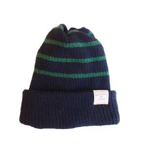 帽子 ツイストボーダー・2wayワッチ|dyn