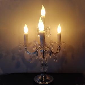 ランプ キャンドルタッチセンサーランプ 4灯 HPN0390|dyn