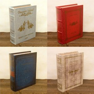 収納 ボックス ブック型 本型 ヒストリー ノーベル シークレットボックス【L】|dyn