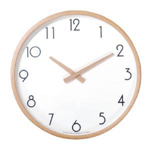 時計 壁掛け 掛け時計 おしゃれ 秒針なし 静か CAMPAS キャンパス ウォールクロック Lサイズ|dyn