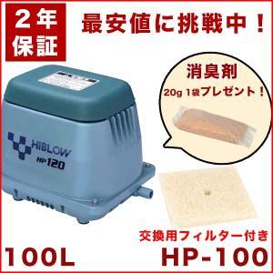 【2年保証】【おまけ付き】テクノ高槻 HP-100 エアーポンプ 100GJ-Hの後継機種 交換用フィルター付き 省エネ 静音  dyn