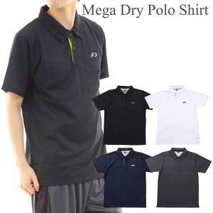 ポロシャツ メンズ 半袖 メガドライ ゴルフ ウェア|dyna-golf