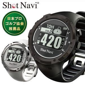 ゴルフナビ 腕時計型 Shot Navi ショットナビ W1-GL 距離測定器|dyna-golf