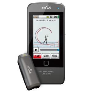 ゴルフスイング測定器 nob maru GST-5 Arc ゴルフスイングトレーナー?タッチパネル カラー2.2インチ Yupiteru ユピテル|dyna-golf