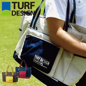 TURF DESIGN ターフデザイン トートバッグ 取り外し出来るポーチ付き|dyna-golf