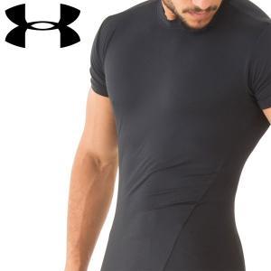 UNDER ARMOUR アンダーアーマー ヒートギア メンズ Tシャツ 無地 コンプレッション インナー|dyna-golf