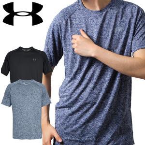 UNDER ARMOUR アンダーアーマー メンズ Tシャツ テック クルーネック|dyna-golf