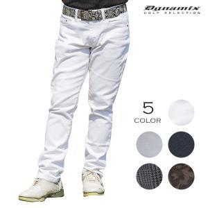 ゴルフパンツ ストレッチ メンズ ゴルフウェア カツラギ|dyna-golf