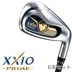 ゴルフ クラブ ダンロップ XXIO PRIME ゼクシオ プライム アイアン 6本セット(#7〜9、PW、AW、SW)  ゼクシオ プライム SP-900 カーボンシャフト|dyna-golf