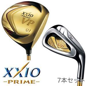 ゴルフ クラブ ダンロップ XXIO PRIME VP ゼクシオ プライム VP アイアン 7本セット(#01、03、05、07、09、PW、SW)  VP-2000 カーボンシャフト|dyna-golf