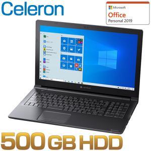 ダイナブック dynabook W6EZ15GPBB ノートパソコン Celeron HDD500G...