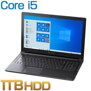 ダイナブック dynabook W6EZ35JPBB ノートパソコン Core i5 HDD1TB ...