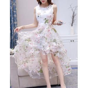 ドレス ワンピース 花柄 ロング パーティー お呼ばれ 結婚式|dynamic-sun