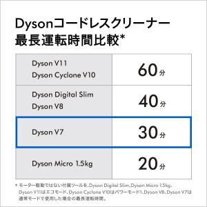 ダイソン Dyson V7 Fluffy サイクロン式 コードレス掃除機 SV11FF ブルー|dyson|04