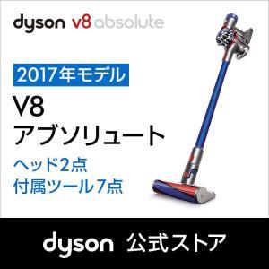 ダイソン Dyson V8 Absolute サイクロン式 コードレス掃除機 SV10ABL2 ブルー 2017年モデル|dyson