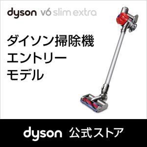 【フトンツール付】ダイソン Dyson V6 Slim Extra サイクロン式 コードレス掃除機 dyson DC62DK|dyson