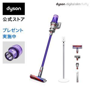 【6/22新発売】ダイソン Dyson Digital Slim Fluffy サイクロン式 コード...
