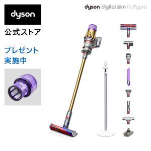 【6/22新発売】ダイソン Dyson Digital Slim Fluffy Pro サイクロン式...