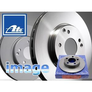 【ブレーキ】ディスクローター・リア1枚/ATE製 メルセデスベンツ/BENZ・W203・C209・R171|e-a-parts