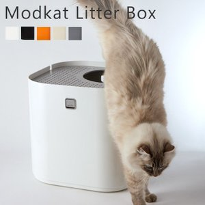 猫用トイレ 猫トイレ 猫 modko モデコ モデキャット リターボックス キャットトイレ 蓋付き おしゃれ デザイン|e-alamode-ys