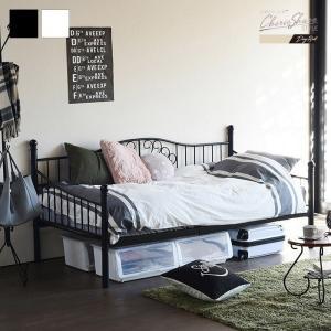ベッドフレーム シングル デイベッド ベッド フレーム パイプベッド|e-alamode-ys