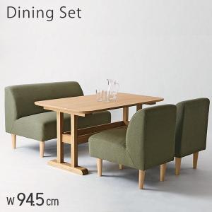 ダイニングテーブルセット ダイニングテーブル ダイニングセット 北欧 ダイニング4点セット 木製 デリカ|e-alamode-ys
