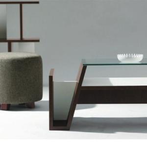 センターテーブル ガラステーブル カフェテーブル (モカ)|e-alamode|03