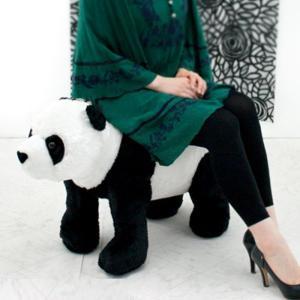 スツール チェア 椅子 いす アニマルスツール 動物スツール パンダ プレゼント パンダさん かわいい|e-alamode