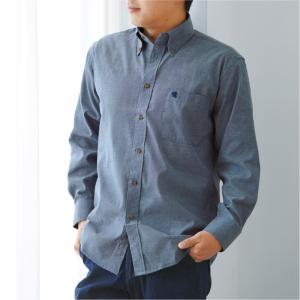 サルーンエクスプレス紳士ダンガリーシャツ3色組 e-apron