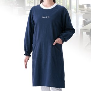 綿ワッシャーロングカッポー e-apron