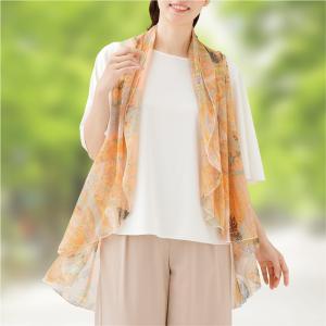 着やせ美人のスカーフベスト e-apron