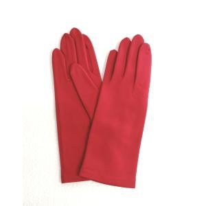 キャディ手袋 赤 |e-azumaya