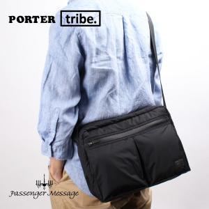 ポーター トライブ ショルダーバッグ 2層 メンズ ナイロン 軽量 吉田カバン PORTER TRIBE 383-16801-10|e-bag-morita