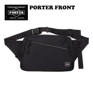 ポーター フロント ウエストバッグ ボディバッグ ナイロン 軽量 日本製 PORTER FRONT ...