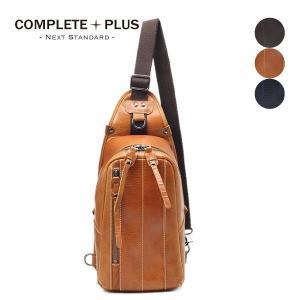 ボディバッグ メンズ レザー 本革 牛革 COMPLETE PLUS コンプリートプラス トフ 923-cp-6c201 父の日ギフト|e-bag-morita