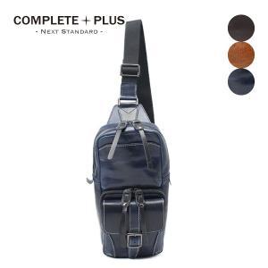 ボディバッグ メンズ レザー 本革 牛革 COMPLETE PLUS コンプリートプラス トフ 923-cp-6c202 父の日ギフト|e-bag-morita