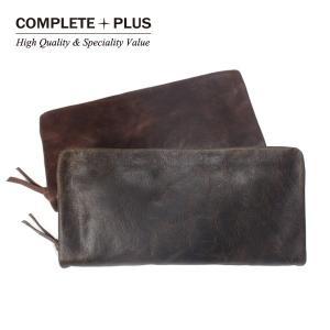 メンズ 長財布 牛革 本革 レザー 長札 COMPLETE PLUS コンプリートプラス Vintage ヴィンテージ SBC-E001|e-bag-morita