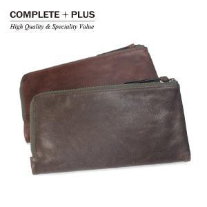 メンズ 二つ折り長財布 牛革 本革 レザー 長札 COMPLETE PLUS コンプリートプラス Vintage ヴィンテージ SBC-E002|e-bag-morita