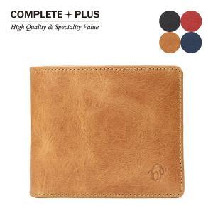 メンズ 財布 二つ折り財布 短札 本革 牛革 COMPLETE PLUS コンプリートプラス NUOVO ヌオーヴォ 932-cp-6s104|e-bag-morita