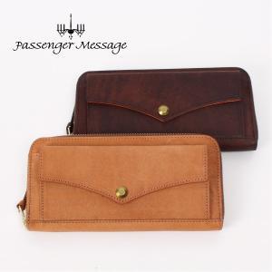 メンズ ラウンドファスナー長財布 牛革 本革 レザー Passenger Message パッセンジャーメッセージ プエブロ  941-pm-7r102|e-bag-morita