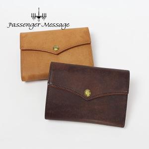 メンズ 二つ折り財布 ミディアム 牛革 本革 レザー 日本製 Passenger Message パッセンジャーメッセージ プエブロ 941-pm-7r103|e-bag-morita